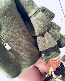 Instagram Shein Ruffle Sweater