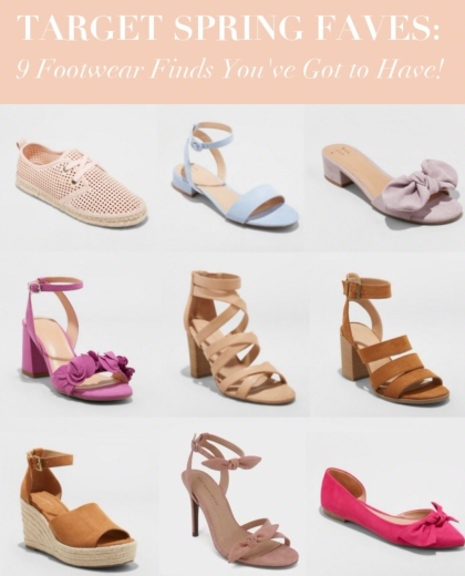 Blog Post Target Spring Shoe Picks