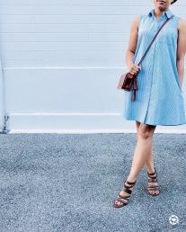 Instagram Old Navy Sleeveless Shirt Dress