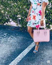 Instagram Express Flutter Sleeve Dress