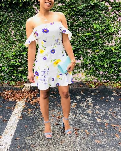 Instagram Forever 21 Floral Linen-Blend Dress