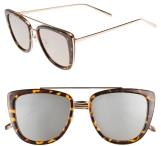 French Kiss 55mm Cat Eye Sunglasses